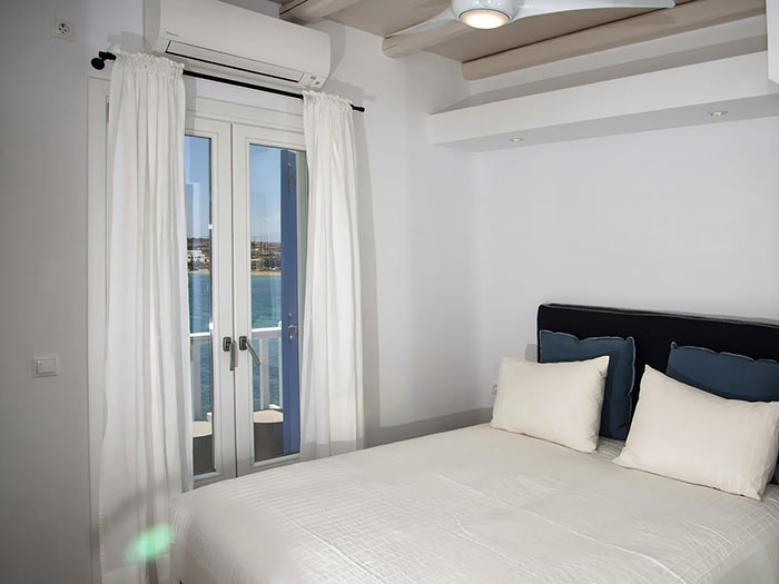 A nice bedroom for your accommodation in Paros Greece
